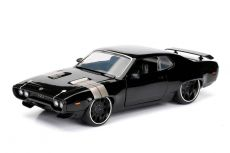Fast & Furious 8 Kov. Model 1/24 Dom's 1972 Plymouth GTX