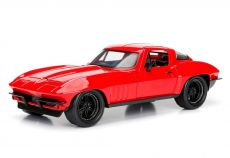 Fast & Furious 8 Kov. Model 1/24 Letty's 1966 Chevy Corvette