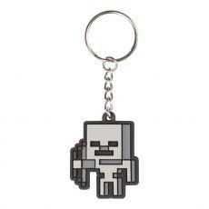 Minecraft Gumový Keychain Skeleton Sprite 4 cm