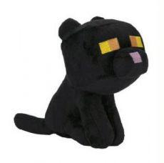 Minecraft Happy Explorer Plyšák Figure Black Cat 18 cm