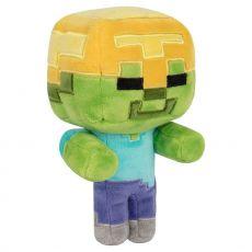 Minecraft Happy Explorer Plyšák Figure Gold Helma Zombie 18 cm