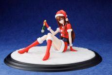 Steins.Gate 0 PVC Soška 1/7 Kurisu Makise Christmas Ver. 12 cm