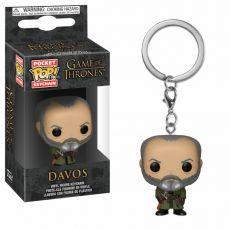Game of Thrones Pocket POP! vinylová Keychain Davos 4 cm