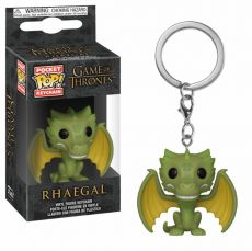 Game of Thrones Pocket POP! vinylová Keychain Rhaegal 4 cm