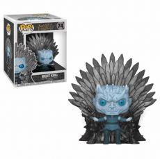 Game of Thrones POP! Deluxe vinylová Figure Night King on Iron Throne 15 cm