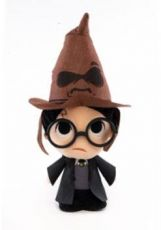 Harry Potter Super Cute Plyšák Figure Harry w/ Sorting Hat 18 cm