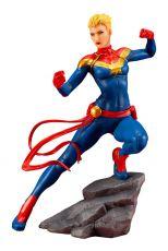 Marvel Universe Avengers Series ARTFX+ PVC Soška 1/10 Captain Marvel 17 cm