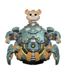 Overwatch Oversized POP! Games vinylová Figure Wrecking Ball 15 cm