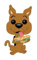 Scooby Doo POP! Animation vinylová Figure Scooby Doo w/ Sandwich 9 cm