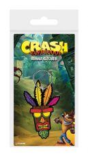 Crash Bandicoot Gumový Keychain Aku Aku 6 cm