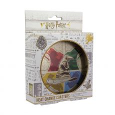 Harry Potter Heat Měnící Podtácky 4-Pack Sorting Hat