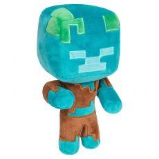 Minecraft Happy Explorer Plyšák Figure Drowned 18 cm