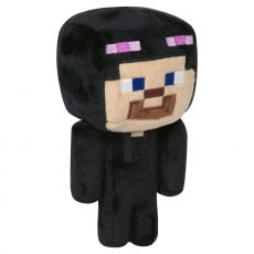 Minecraft Happy Explorer Plyšák Figure Enderman Steve 18 cm