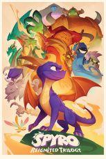Spyro the Dragon Plakát Pack Animated Style 61 x 91 cm (5)