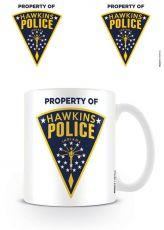 Stranger Things Hrnek Hawkins Police Odznak