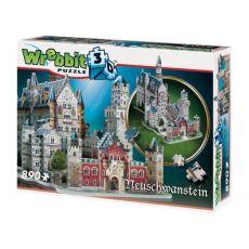 Wrebbit Castles & Cathedrals 3D Puzzle Neuschwanstein Castle