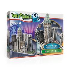Wrebbit New York Kolekce 3D Puzzle Financial
