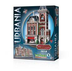 Wrebbit Urbania 3D Puzzle Fire Station