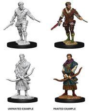 D&D Nolzur's Marvelous Miniatures Unpainted Miniatures Male Human Rogue Case (6)