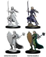 D&D Nolzur's Marvelous Miniatures Unpainted Miniatures Female Elf Paladin Case (6)