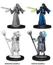 D&D Nolzur's Marvelous Miniatures Unpainted Miniatures Male Elf Wizard Case (6)