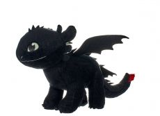 How to Train Your Dragon 3 Plyšák Figure Toothless Glow In The Dark 32 cm