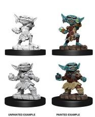 Pathfinder Battles Deep Cuts Unpainted Miniatures Female Goblin Alchemist Case (6)