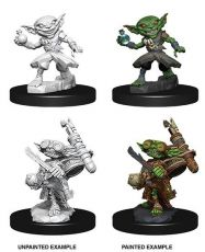 Pathfinder Battles Deep Cuts Unpainted Miniatures Male Goblin Alchemist Case (6)