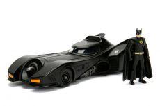 Batman Build N' Collect Kov. Kit 1/24 1989 Batmobile with Batman Figurka