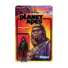 Planet of the Apes ReAction Akční Figure Gorilla Soldier (Hunter) 10 cm