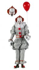 Stephen King's It 2017 Retro Akční Figure Pennywise 20 cm