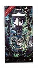 Alien 40th Anniversary Náhrdelník Facehugger