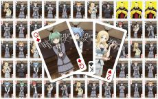 Assassination Classroom Playing Karty Characters