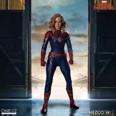 Captain Marvel Akční Figure 1/12 Captain Marvel 16 cm