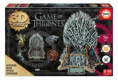 Game of Thrones 3D Monument Puzzle Iron Throne