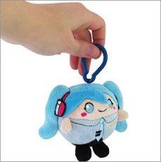 Hatsune Miku Squishable Micro Clip-On Plyšák Figure Miku 8 cm