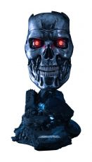 Terminator 2: Judgment Day Replika 1/1 T-800 Endoskeleton Mask 46 cm