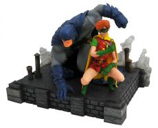 The Dark Knight Returns DC Comic Gallery PVC Soška Batman & Robin 20 cm