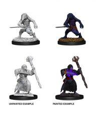 D&D Nolzur's Marvelous Miniatures Unpainted Miniatures Kenku Adventurers Case (6)