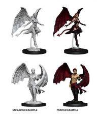 D&D Nolzur's Marvelous Miniatures Unpainted Miniatures Succubus & Incubus Case (6)