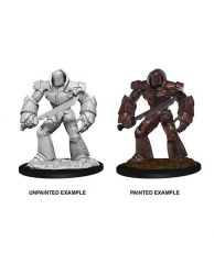 D&D Nolzur's Marvelous Miniatures Unpainted Miniature Iron Golem Case (6)