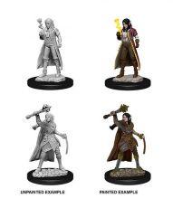 D&D Nolzur's Marvelous Miniatures Unpainted Miniatures Female Elf Cleric Case (6)