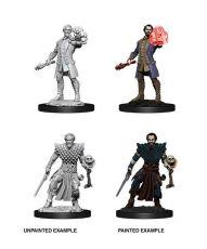 D&D Nolzur's Marvelous Miniatures Unpainted Miniatures Male Human Warlock Case (6)