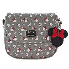 Disney by Loungefly Kabelka Minnie Head & Flower Print