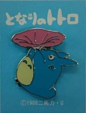 My Neighbor Totoro Pin Odznak Totoro Morning Glory
