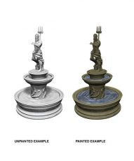 WizKids Deep Cuts Unpainted Miniature Fountain Case (6)
