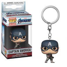 Avengers Endgame Pocket POP! vinylová Keychain Captain America 4 cm