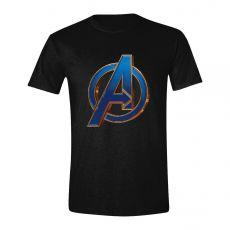Avengers: Endgame Tričko Heroic Logo Velikost XL