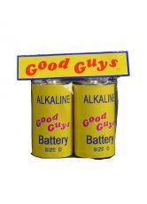 Child's Play 2 Replika 1/1 Good Guys Batteries