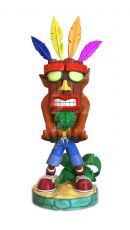 Crash Bandicoot Cable Guy Aku Aku Crash 20 cm